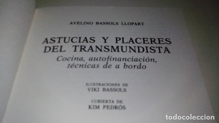 Coleccionismo deportivo: Astucias y placeres del transmundista: cocina, autofinanciación, técnicas de a bordo-AVELINO BASSOLS - Foto 4 - 110096955