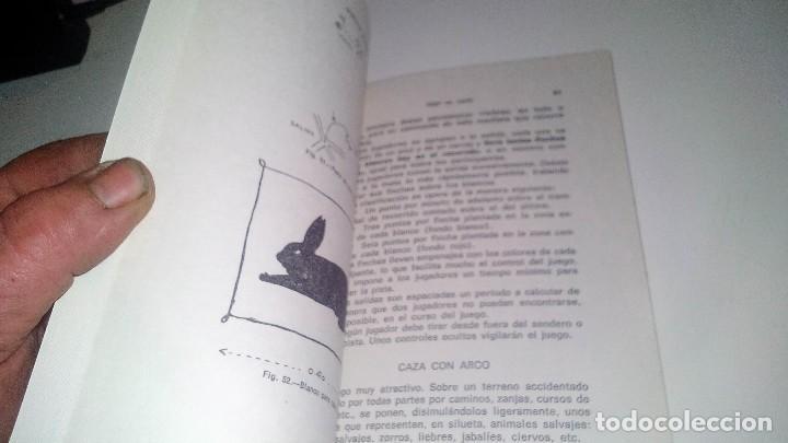 Coleccionismo deportivo: TIRO CON ARCO-BIBLIOTECA DEPORTIVA-GUSTAVO EGGERT G-EDITORIAL SINTES-53 ILUSTRACIONES - Foto 5 - 110417531