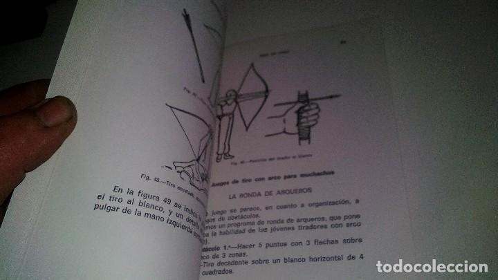 Coleccionismo deportivo: TIRO CON ARCO-BIBLIOTECA DEPORTIVA-GUSTAVO EGGERT G-EDITORIAL SINTES-53 ILUSTRACIONES - Foto 6 - 110417531