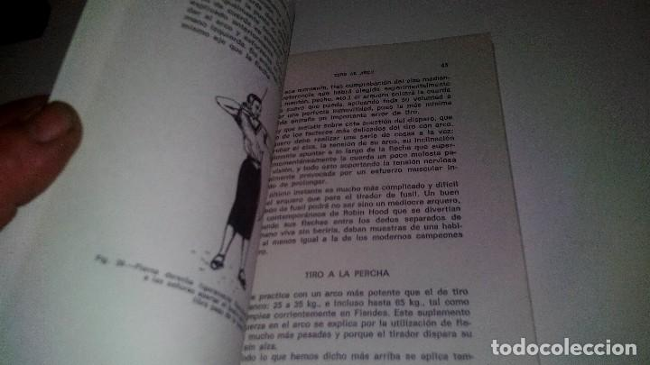 Coleccionismo deportivo: TIRO CON ARCO-BIBLIOTECA DEPORTIVA-GUSTAVO EGGERT G-EDITORIAL SINTES-53 ILUSTRACIONES - Foto 10 - 110417531