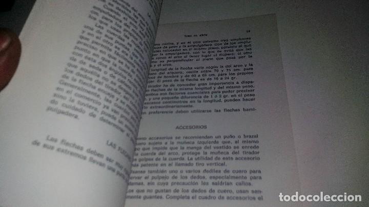 Coleccionismo deportivo: TIRO CON ARCO-BIBLIOTECA DEPORTIVA-GUSTAVO EGGERT G-EDITORIAL SINTES-53 ILUSTRACIONES - Foto 14 - 110417531