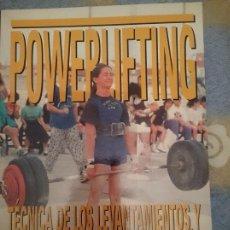 Coleccionismo deportivo: POWERLIFTING -TECNICA DE LEVANTAMIENTOS Y ENTRENAMIENTO PARA COMPETICION --REFM3E1. Lote 111528659