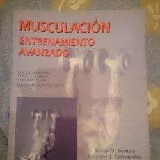 Coleccionismo deportivo: MUSCULACION ENTRENAMIENTO AVANZADO -REFM3E1. Lote 111529031