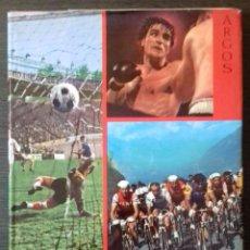Coleccionismo deportivo: LOS DEPORTES. BARCELONA: ARGOS, 1967. PRIMERA EDICIÓN. 25X34. HOLANDESA, PIEL-TELA.. Lote 111661575