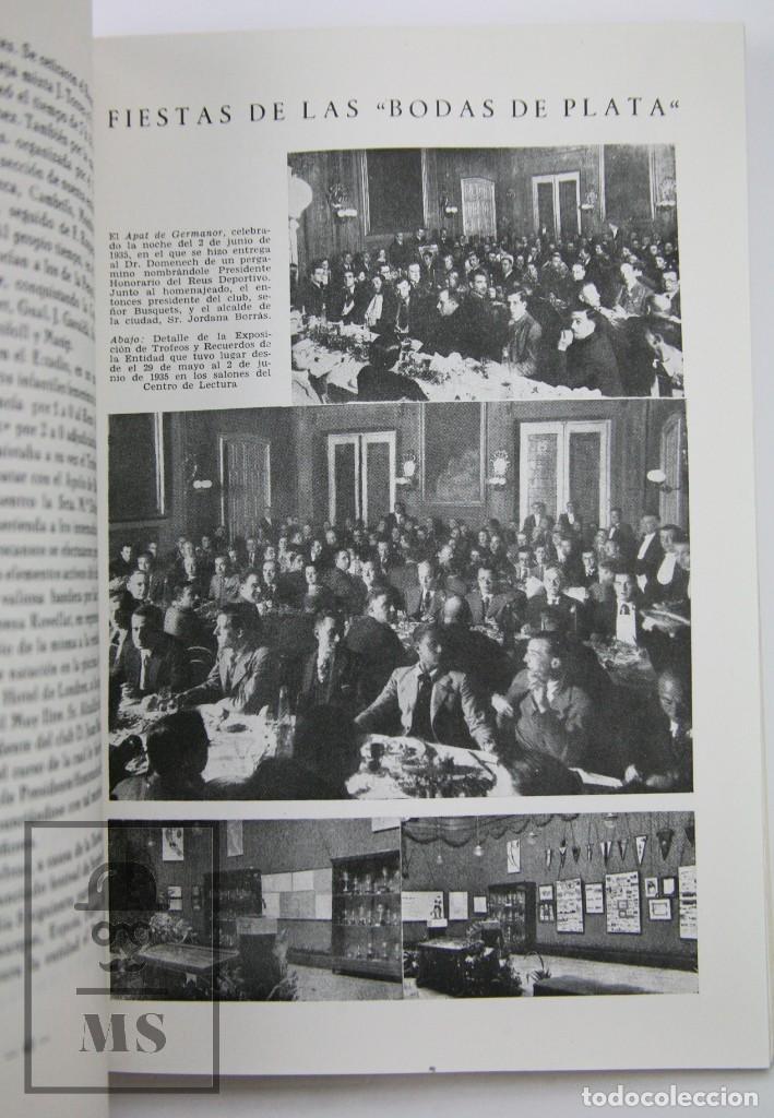 Coleccionismo deportivo: Libro Bodas de Oro. Reus Deportivo 1909-1959 - Edición Limitada 600 Ejemplares - Reus, 1961 - Foto 5 - 112334191