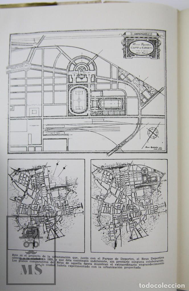 Coleccionismo deportivo: Libro Bodas de Oro. Reus Deportivo 1909-1959 - Edición Limitada 600 Ejemplares - Reus, 1961 - Foto 6 - 112334191