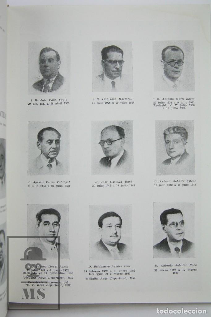Coleccionismo deportivo: Libro Bodas de Oro. Reus Deportivo 1909-1959 - Edición Limitada 600 Ejemplares - Reus, 1961 - Foto 7 - 112334191