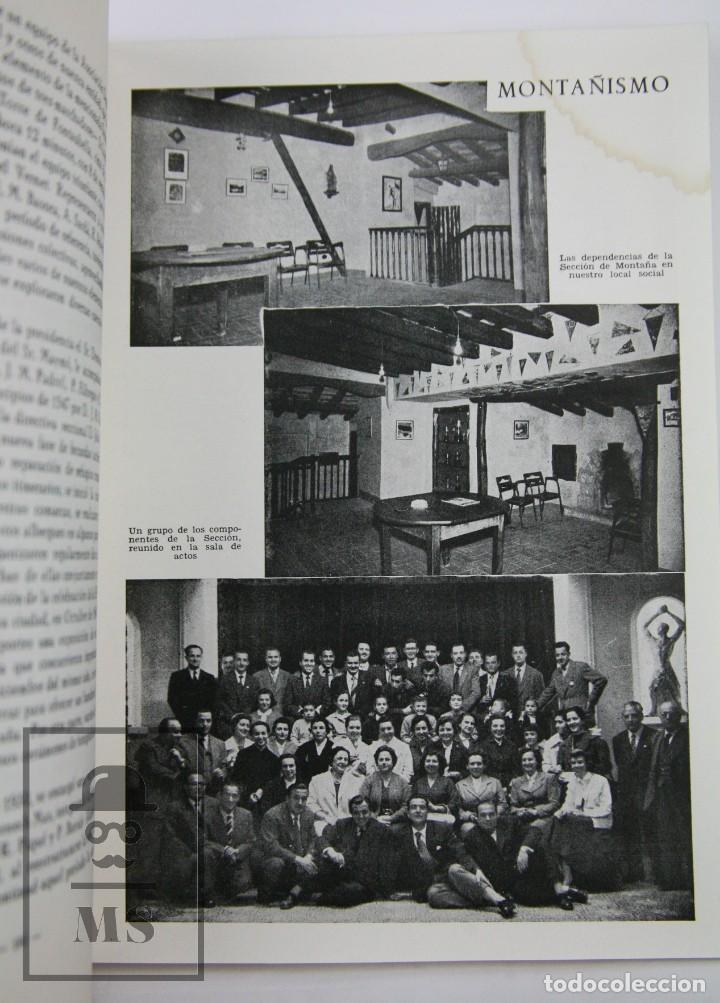 Coleccionismo deportivo: Libro Bodas de Oro. Reus Deportivo 1909-1959 - Edición Limitada 600 Ejemplares - Reus, 1961 - Foto 8 - 112334191