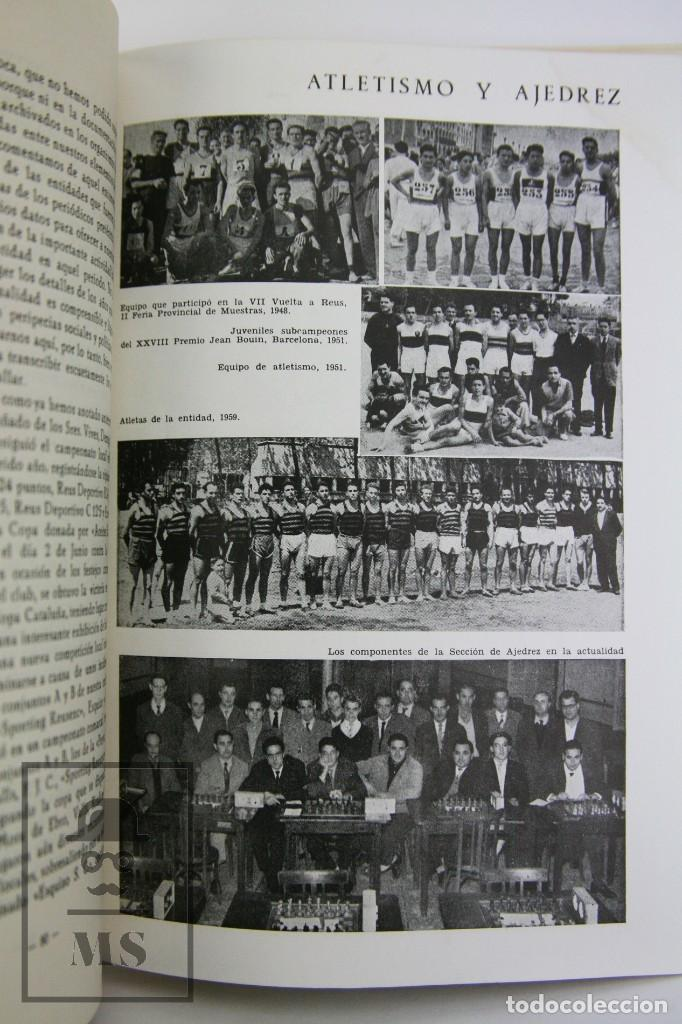 Coleccionismo deportivo: Libro Bodas de Oro. Reus Deportivo 1909-1959 - Edición Limitada 600 Ejemplares - Reus, 1961 - Foto 9 - 112334191