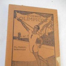 Coleccionismo deportivo: LOS SPORTS, JUEGOS OLÍMPICO-MANUEL NOGAREDA - LIBRERÍA SINTES- BARCELONA- S/F. - . Lote 113167335