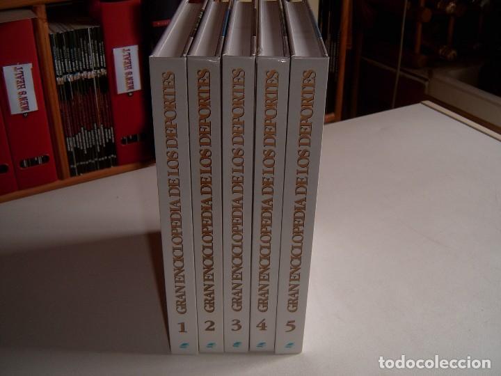 GRAN ENCICLOPEDIA DE LOS DEPORTES (Coleccionismo Deportivo - Libros de Deportes - Otros)