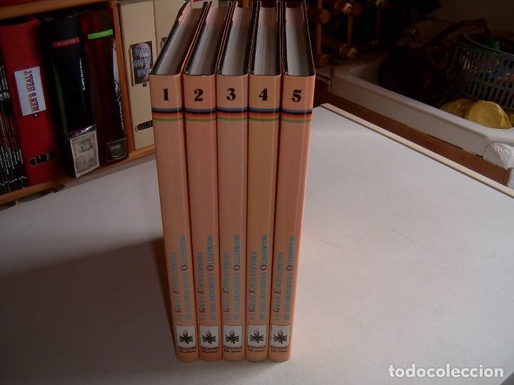 GRAN ENCICLOPEDIA DE LOS JUEGOS OLIMPICOS (Coleccionismo Deportivo - Libros de Deportes - Otros)