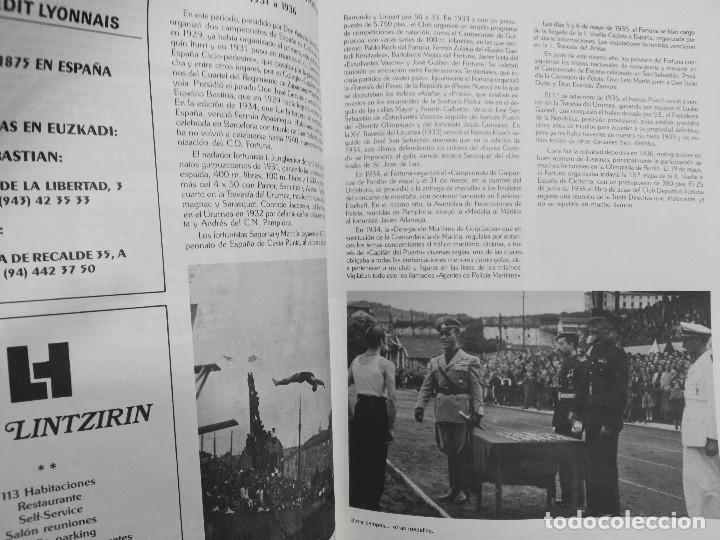Coleccionismo deportivo: revista del club deportivo fortuna de san sebastian de sus bodas de diamante - Foto 3 - 114451631