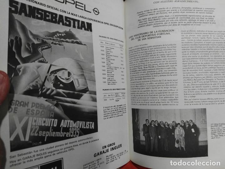 Coleccionismo deportivo: revista del club deportivo fortuna de san sebastian de sus bodas de diamante - Foto 4 - 114451631