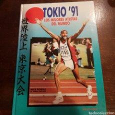 Coleccionismo deportivo - José Luis López. Tokio 91. Los mejores atletas del mundo. Mundial de Atletismo - 114599736
