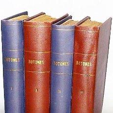 Coleccionismo deportivo: BOTONES. REVISTA ORIGINAL DE FUTBOL DE MESA CON BOTONES.(4 TOMOS) . Lote 114689979