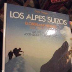 Coleccionismo deportivo: LOS ALPES SUIZOS / GROSSEN / OBERLAND EIGER JUNGFRAU - STOCK LIBRERIA !! - MONTAÑISMO ESCALADA. Lote 114735371