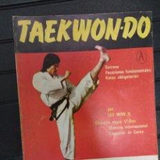 Coleccionismo deportivo: TAEKWONDO. LEE WON IL. Lote 147695898
