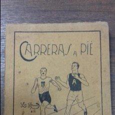 Coleccionismo deportivo: LOS SPORTS. CARRERAS A PIÉ. ALBERTO MALUQUER. EDITORIAL IBERICA, BARCELONA. INTONSO.. Lote 213194543