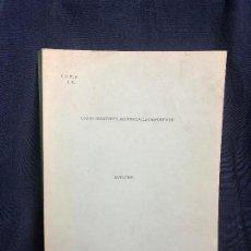 Coleccionismo deportivo: CURSO MONITORES PROVINCIALES DEPORTIVOS NATACION MANUEL VILLANUEVA FERNANDEZ I.N.E.F. J.E. 31X21CMS. Lote 116110563