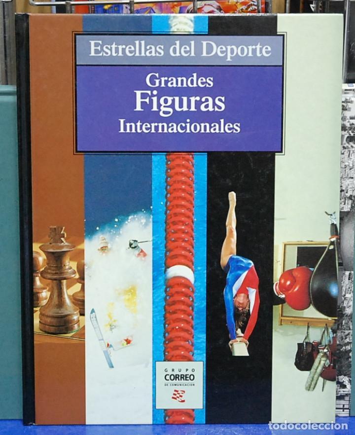 ESTRELLAS DEL DEPORTE. GRANDES FIGURAS INTERNACIONALES (Coleccionismo Deportivo - Libros de Deportes - Otros)
