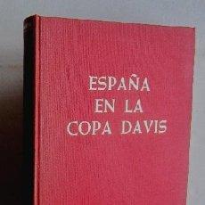 Coleccionismo deportivo: ESPAÑA EN LA COPA DAVIS - EJEMPLAR AUTOGRAFIADO POR SANTANA, ORANTES, ARILLA, GISBERT Y BARTROLI. Lote 116807803