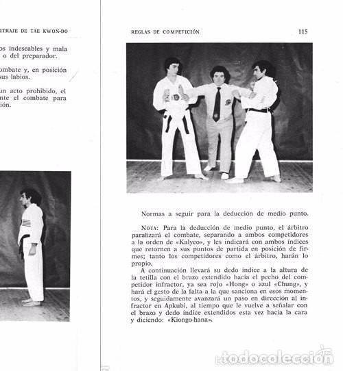 Coleccionismo deportivo: B184 - TAE KWON DO. TAEKWONDO. Arbitraje. Reglamento Federacion Mundial. Artes Marciales. Karate. - Foto 2 - 116989647