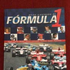 Coleccionismo deportivo: LIBRO ATLAS ILUSTRADO DE FORMULA 1 F1 EDITORIAL SUSAETA EN MUY BUEN ESTADO. Lote 117122543