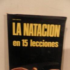 Coleccionismo deportivo: LA NATACION EN 15 LECCIONES - PABLO MARTINO - ED. DE VECCHI 1972 / ILUSTRADO. Lote 118756415