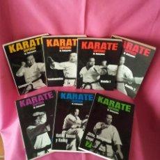 Coleccionismo deportivo: M. NAKAYAMA - KARATE SUPERIOR - 7 LIBROS - PUBLICACIONES FHER. Lote 120594863