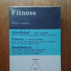Coleccionismo deportivo: FITNESS, TEORIA Y PRACTICA, EDICIONES SCRIBA, 1993. Lote 120970195