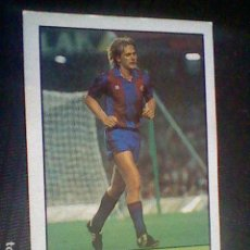 Collectionnisme sportif: ED LISEL CROMO SIN PEGAR NUNCA LIGA 85 86 1985 1986 BARCELONA Nº 68 SCHUSTER *. Lote 121043659