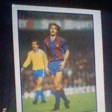 Collezionismo sportivo: ED LISEL CROMO SIN PEGAR NUNCA LIGA 85 86 1985 1986 BARCELONA Nº 72 CLOS. Lote 121044371