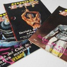 Coleccionismo deportivo: REVISTA DEL CLUB DE LAS ARTES MARCIALES ETERNIDAD EIEN 1978 TRES PRIMERAS. Lote 121437711
