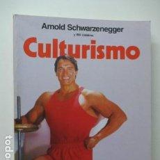 Coleccionismo deportivo: CULTURISMO , ARNOLD SCHWARZENEGGER Y BILL DOBBINS . Lote 121659343