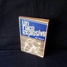 Coleccionismo deportivo: EDGAR TIJERINO M. - UN FLACO EXPLOSIVO - MANAGUA 1975. Lote 124654983