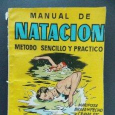 Coleccionismo deportivo: MANUEL DE NATACION - MANUALES CISNE Nº 17, J. E. GRANADOS - 76 PAGINAS...R-9755. Lote 126006263