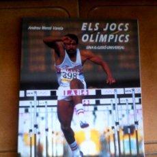 Coleccionismo deportivo: LIBRO ELS JOCS OLIMPICS DE ANDREU MERÇE VARELA EDICIONES 62 AÑO 1988. Lote 126383007