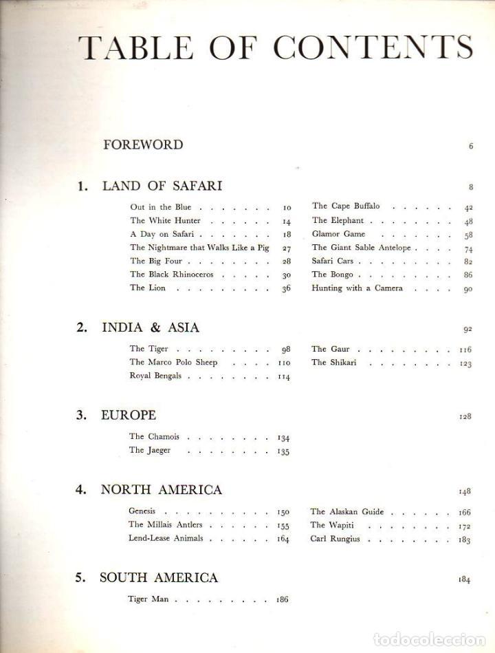 Coleccionismo deportivo: RUSSELL BARNETT AITKEN : GREAT GAME ANIMALS (1969) GRAN FORMATO, MUY ILUSTRADO -CAZA MAYOR - Foto 2 - 126921979