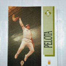 Coleccionismo deportivo: PELOTA. COMITE OLIMPICO ESPAÑOL. FEDERACION ESPAÑOLA DE PELOTA. VV.AA. 1991. TDK224. Lote 127665327