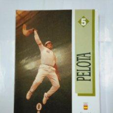 Coleccionismo deportivo: PELOTA. COMITE OLIMPICO ESPAÑOL. FEDERACION ESPAÑOLA DE PELOTA. VV.AA. 1991. TDKLT. Lote 127665411
