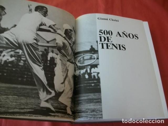 LIBRO WINSTON DEL TENIS. 500 AÑOS DE HISTORIA - GIANNI CLERICI (Coleccionismo Deportivo - Libros de Deportes - Otros)