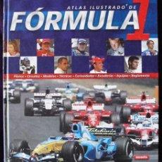 Coleccionismo deportivo: ATLAS ILUSTRADO DE FORMULA 1 - EDICIONES SUSAETA - DIRECTOR JORDI VIGUÉ -. Lote 128342043