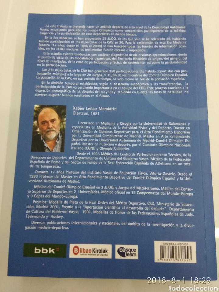 Coleccionismo deportivo: LA PARTICIPACION DE LOS DEPORTISTAS DE LA COMUNIDAD AUTONOMA VASCA EN LOS JUEGOS OLIMPICOS X. LEIBAR - Foto 3 - 129642812