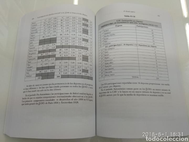 Coleccionismo deportivo: LA PARTICIPACION DE LOS DEPORTISTAS DE LA COMUNIDAD AUTONOMA VASCA EN LOS JUEGOS OLIMPICOS X. LEIBAR - Foto 8 - 129642812