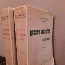 Coleccionismo deportivo: ARCHIVO DEPORTIVO DE SANTANDER - FERMIN SANCHEZ GONZALEZ - PEPE MONTAÑA - SANTANDER 1948. Lote 130811196