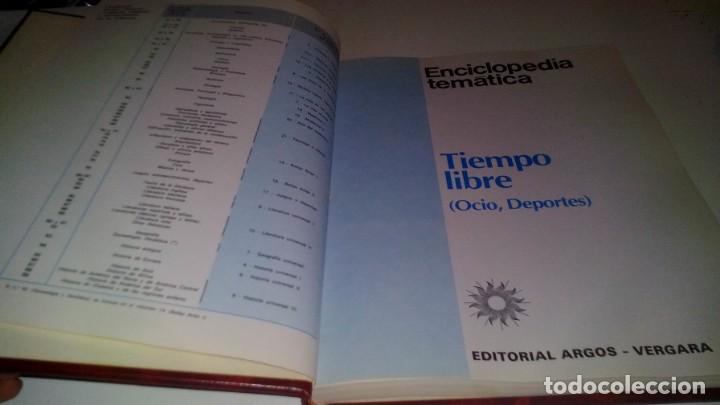 Coleccionismo deportivo: enciclopedia tematica tiempo libre-ocio deportes-argos vergaracj135deporte - Foto 4 - 131056780