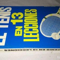 Coleccionismo deportivo - el tenis en 13 lecciones-fausto gardini-vecchi-cj145deporte - 131057728