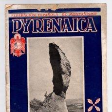 Coleccionismo deportivo: BOLETIN REGIONAL VASCO-NAVARRO PYRENAICA. FEDERACION ESPAÑOLA DE MONTAÑISMO. Nº 3. 1952. Lote 131984547