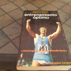 Coleccionismo deportivo: ENTRENAMIENTO ÓPTIMO JÜRGEN WEINECK. Lote 132009794